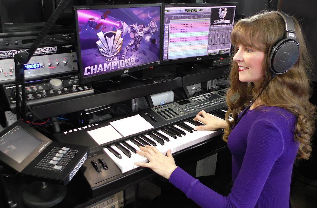 Winifred phillips / Video Game composer