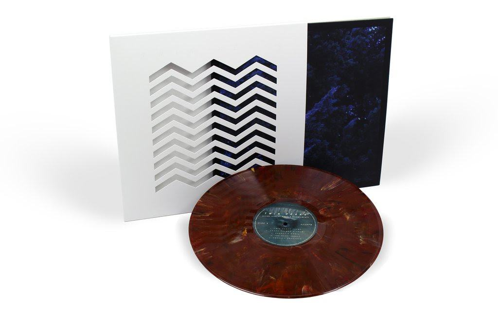 Twin Peaks vinyl cover / Death Waltz Records