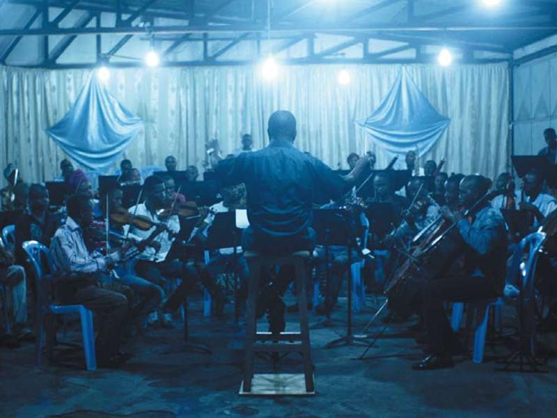 The Kimbanguist Symphony Orchestra playing Arvo Pärt's music